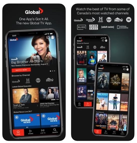 Global tv update 5 0