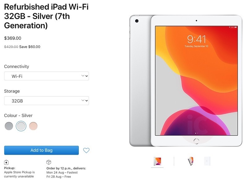 Ipad 7 refurbished