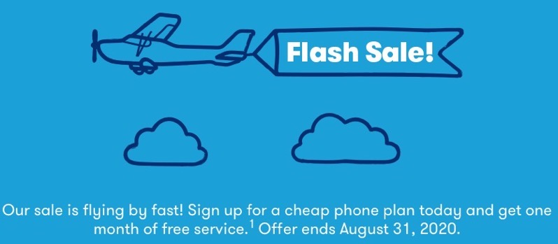 Lucky mobile flash sale august 2020