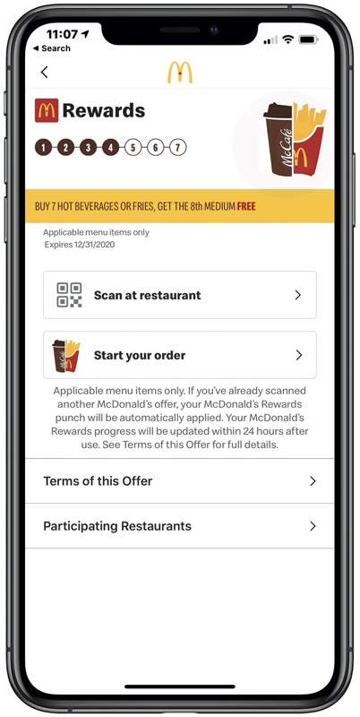 Mcdonald s rewards