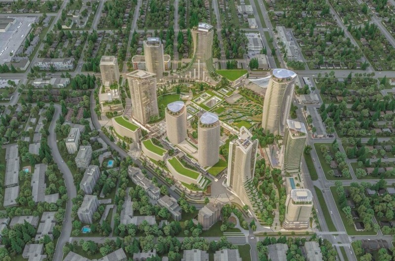 Oakridge aerial render