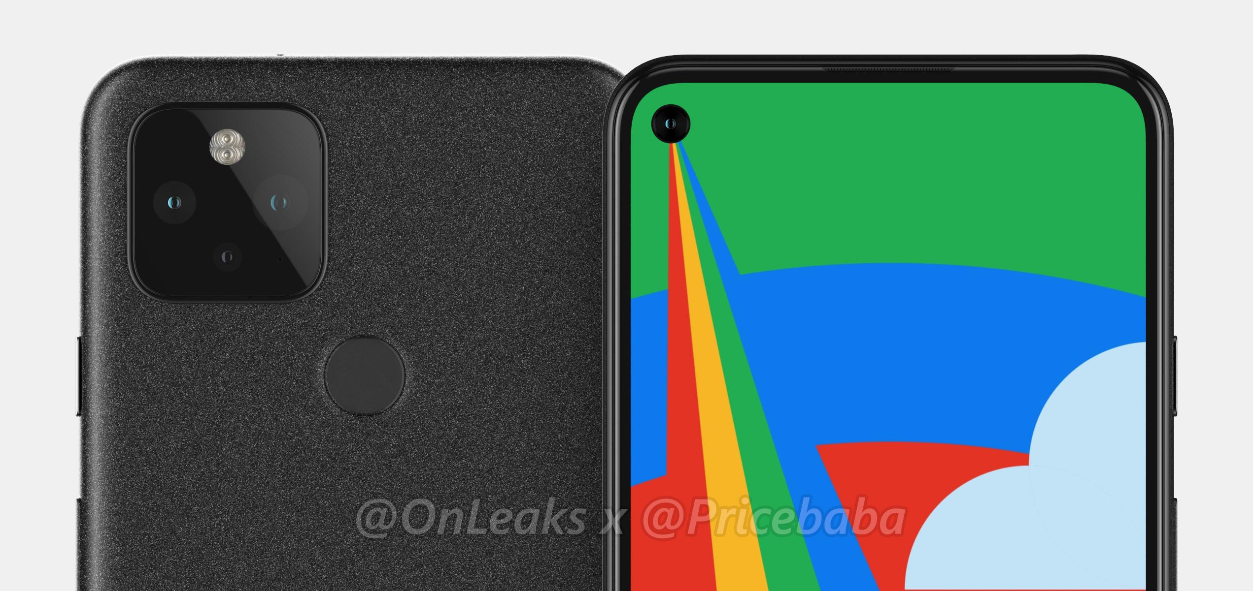 Google Pixel 5 Fingerprint