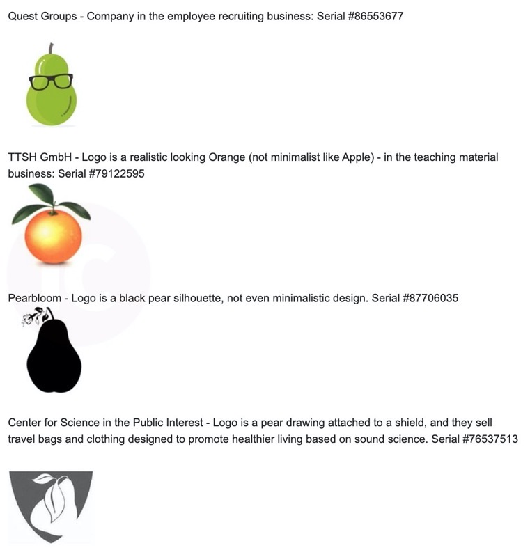 Prepear apple logos fruit