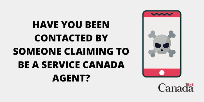 Service canada scam