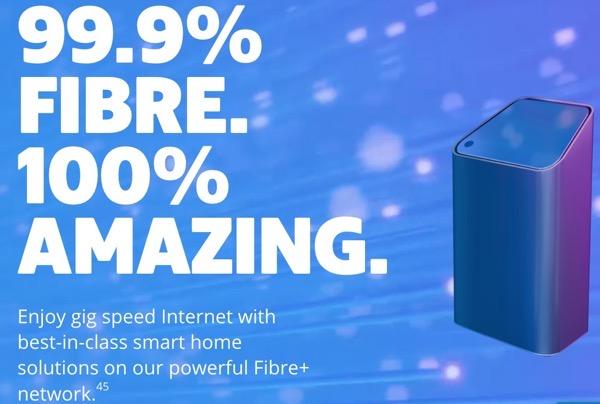 Shaw fibre internet