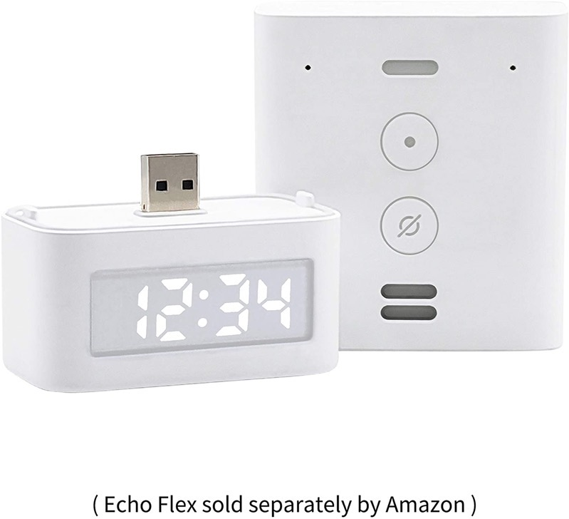 Smart clock echo flex
