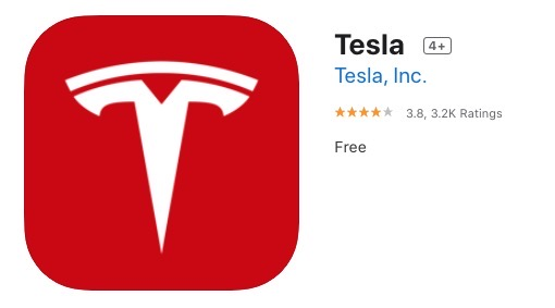 Tesla iphone app