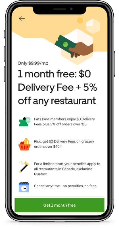 Uber eats eats pass