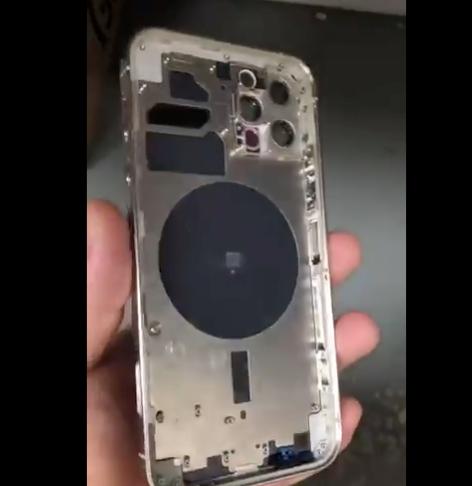 Alleged iphone 12 pro leak