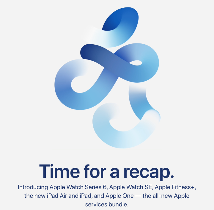 Apple 2020 september event replay