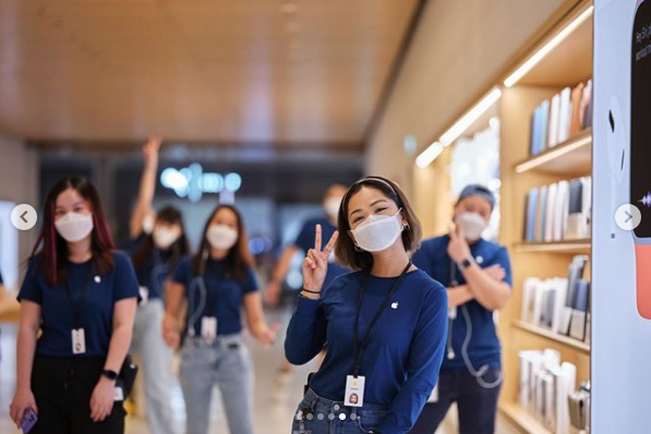 Apple face mask singapore