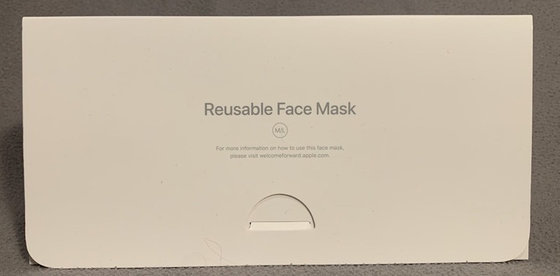 Apple face mask unboxing