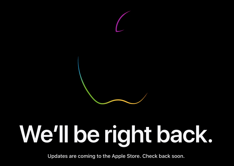 Apple store down september 2020