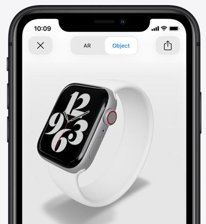 Apple watch series 6 AR