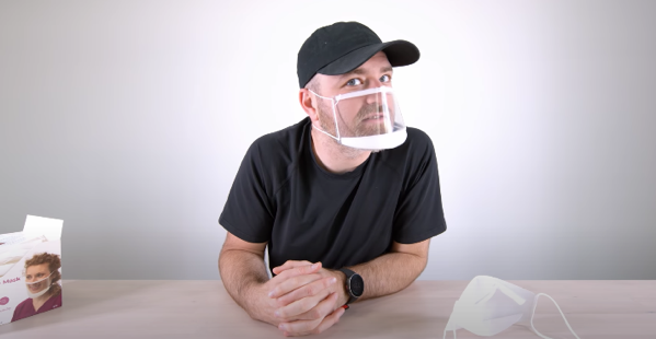 Apple mask unboxing 1