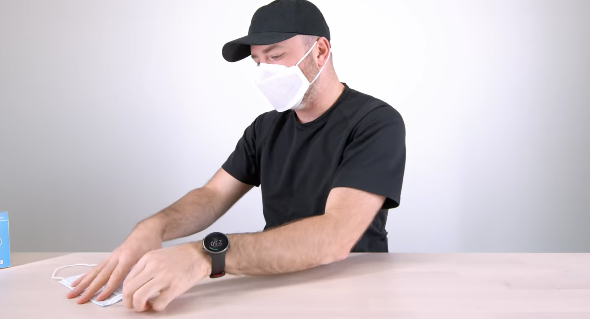 Apple mask unboxing 6