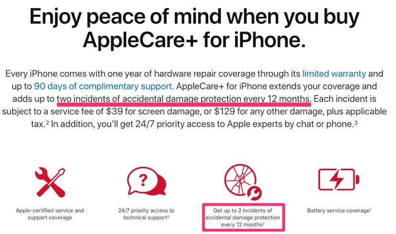 Applecare new