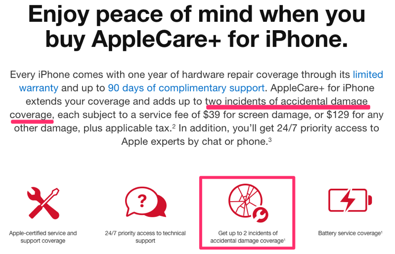Applecare old