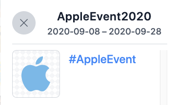 Appleevent apple