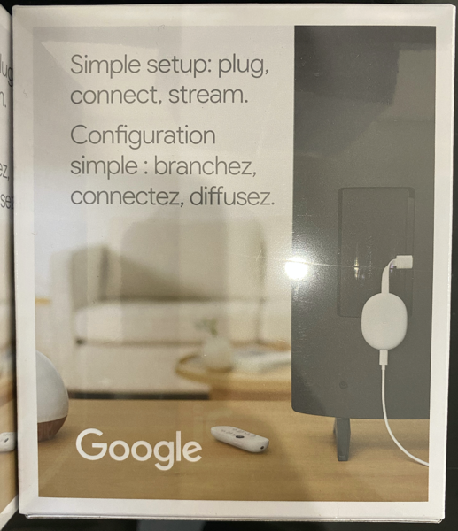 Chromecast google tv canada 2