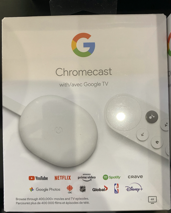 Chromecast google tv canada