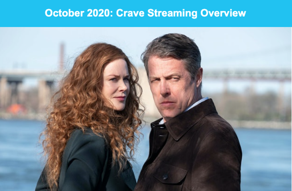 Crave whats new october 2020