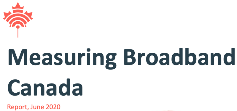 Crtc measuring broadband canada