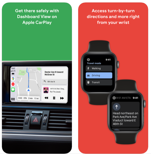 Google maps apple watch 2