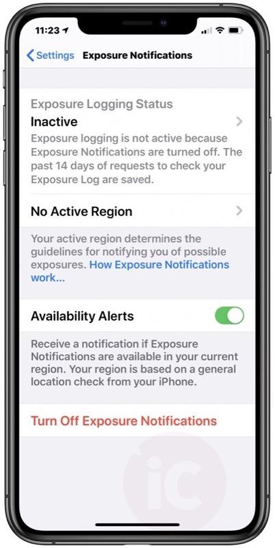 Ios 13 7 exposure notification no covid alert app copy