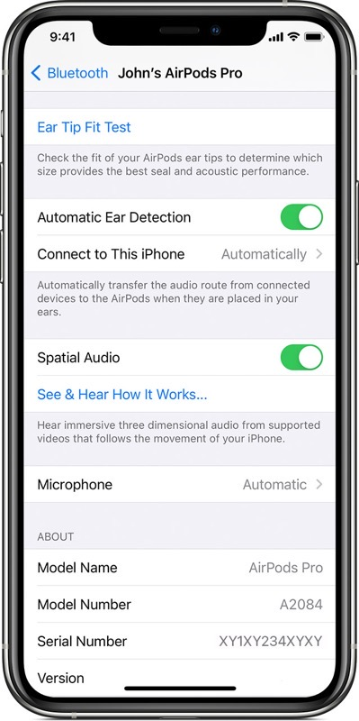 airpods pro spatial audio iphone