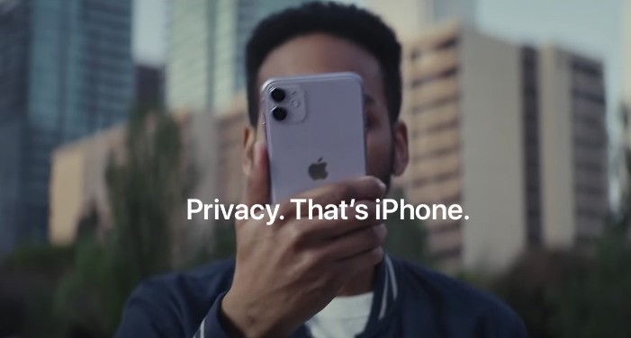 Iphone privacy ad