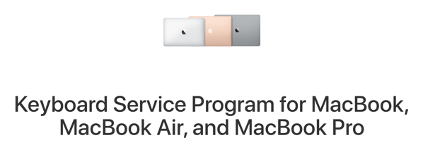 Keyboard service program