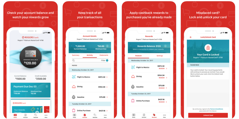 Rogers bank app ios