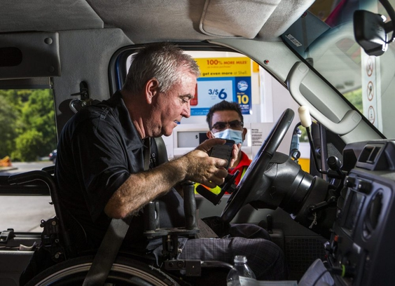 Shell fuel service