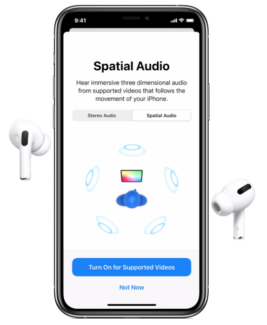 How To Listen With Spatial Audio For Airpods Pro On Iphone And Ipad Iphone In Canada Blog
