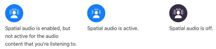 Spatial audio control center