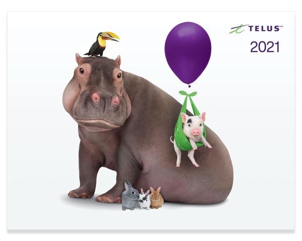 Telus calendar 2021