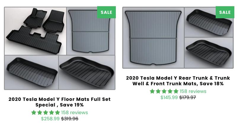 Tesmanian floor mats sale