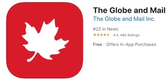 The globe and mail itunes