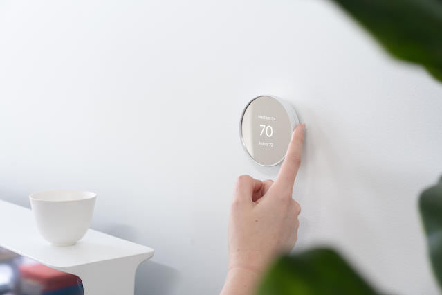 Nest Thermostat lifestyle 1