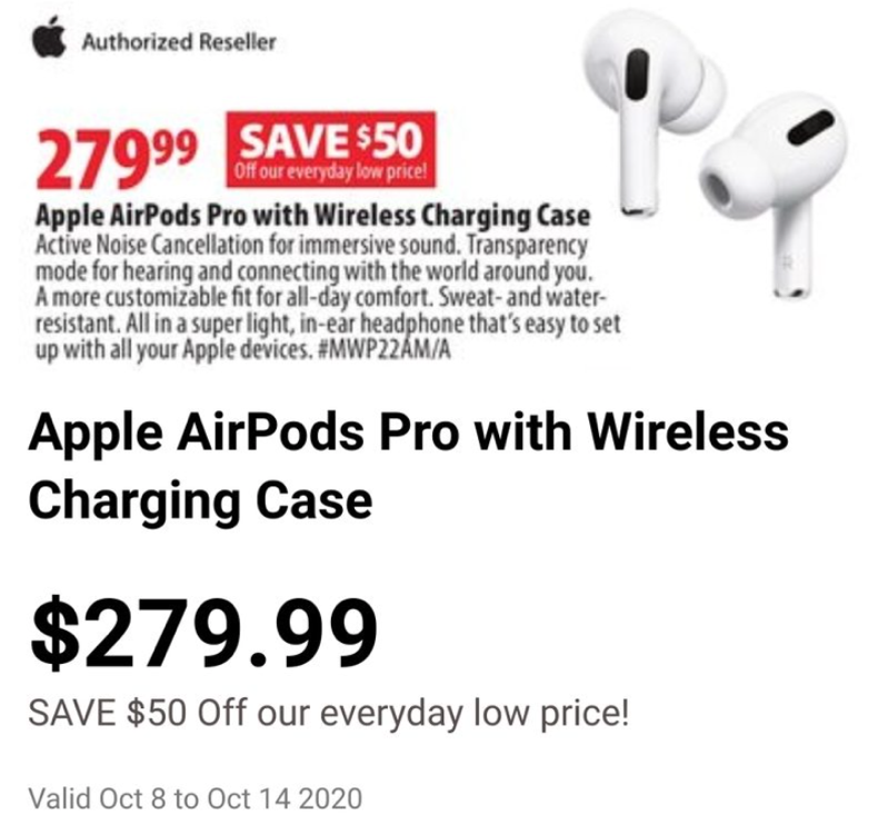 Airpods pro sale london drugs
