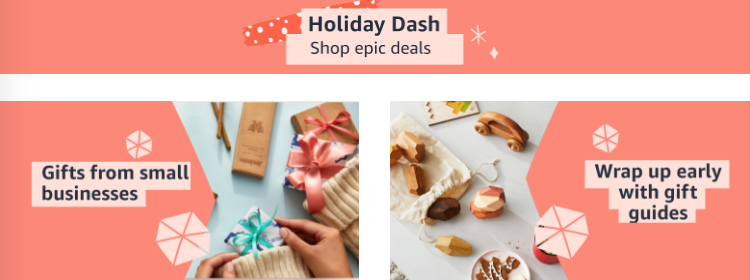 Amazon holiday dash