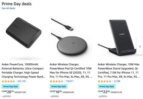 Best Anker Prime Day Deals 2020 on Amazon Canada [Full List]