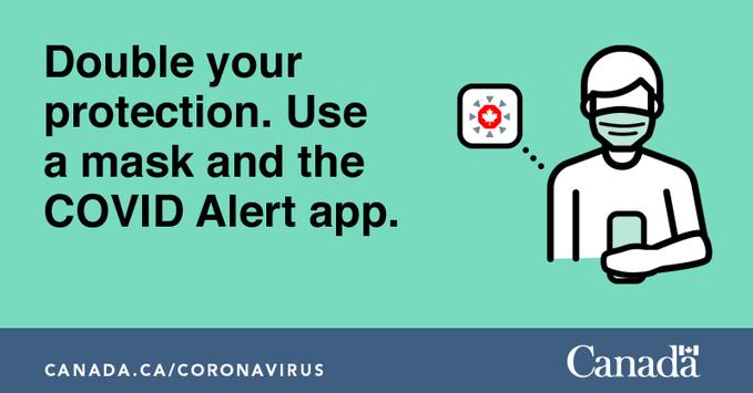 Covid alert mask app