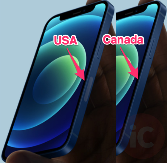 Iphone 12 mmwave 5g usa vs canada