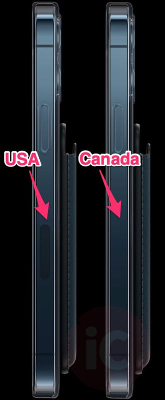 Iphone 12 pro mmWave usa vs canada