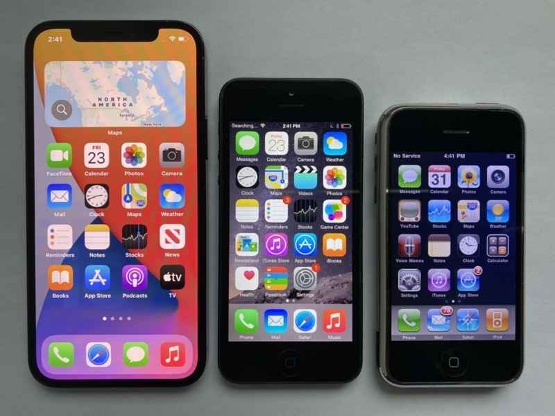 Iphone 12 pro vs iphone 5 1