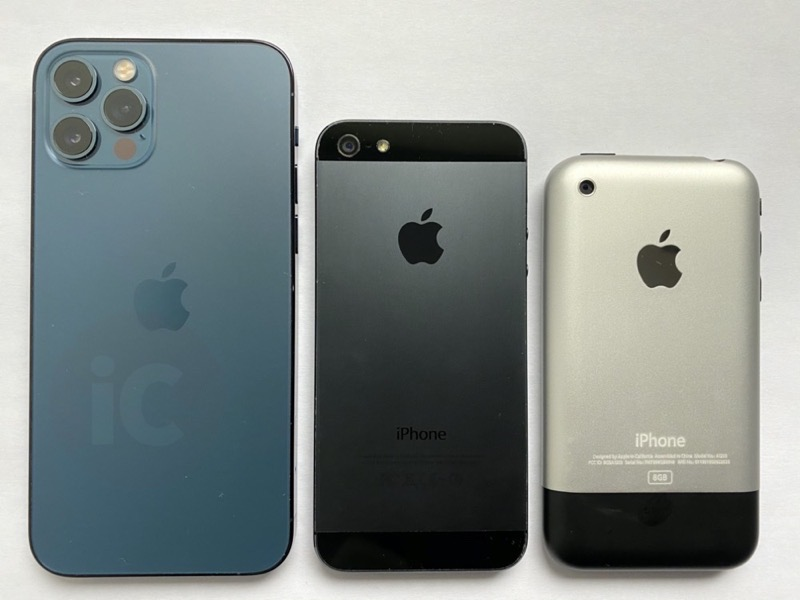 Iphone 12 pro vs iphone 5 2