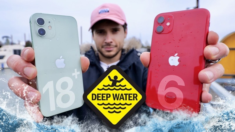 Iphone 12 water test