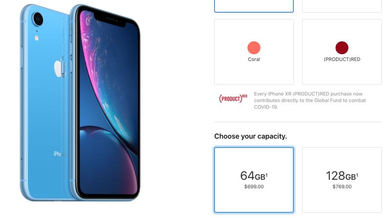 Iphone xr october 2020 price update